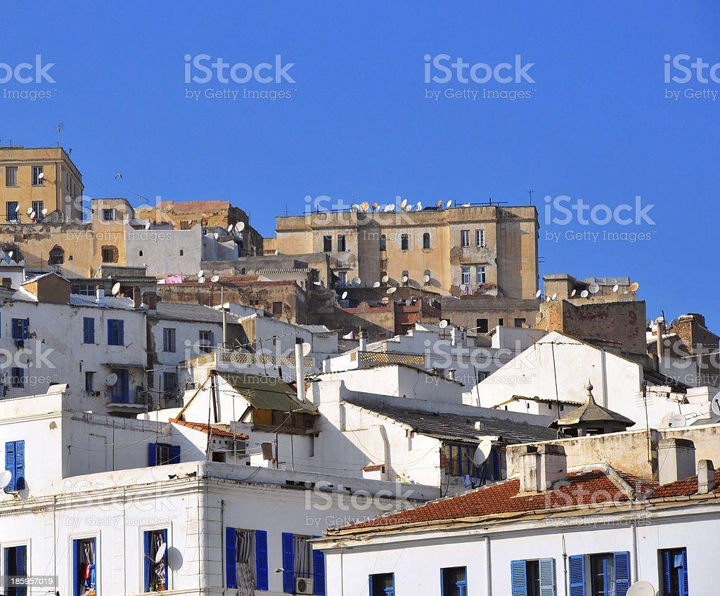 Algiers, Algeria: the Kasbah royalty-free stock photo