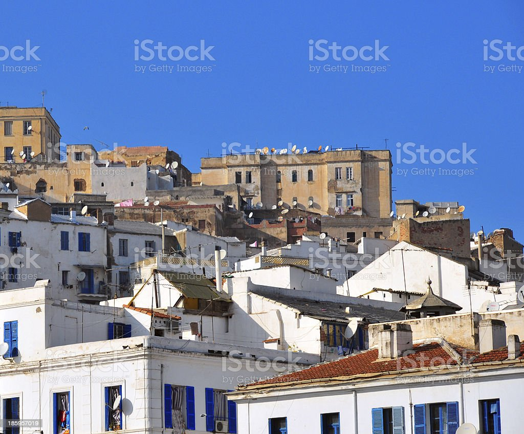 Algiers, Algeria: the Kasbah stock photo
