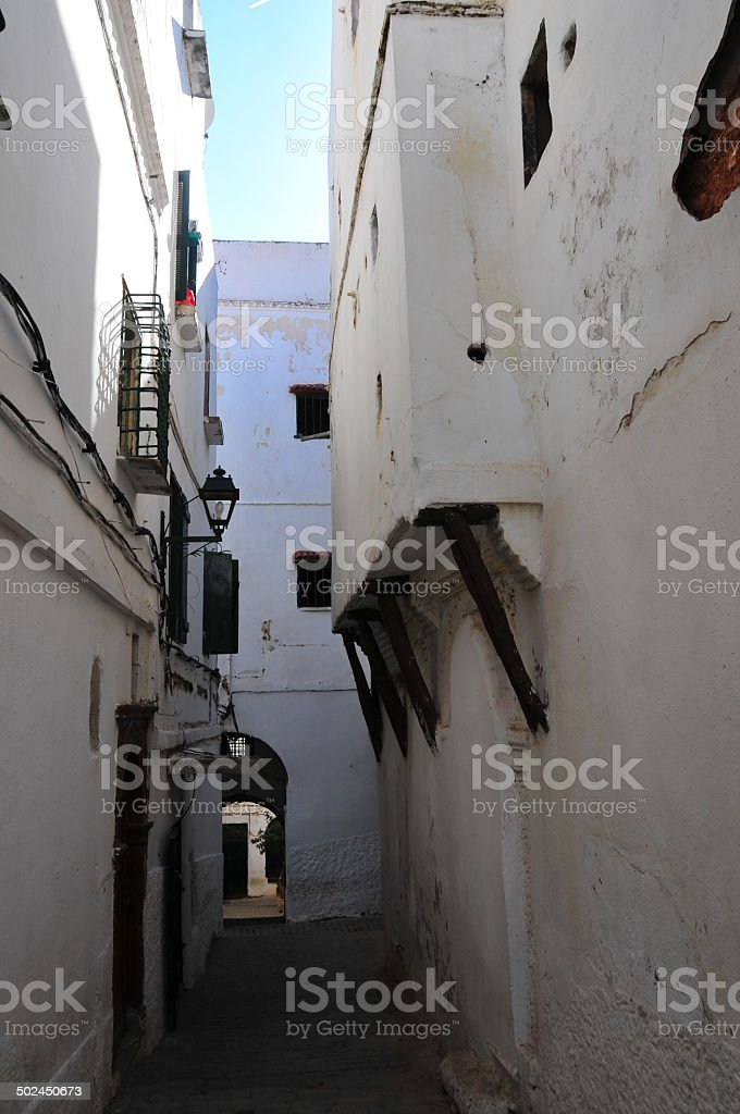 Algiers casbah royalty-free stock photo