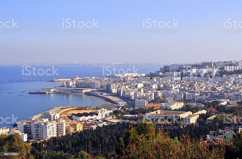 Alger depuis Notre-Dame d''Afrique Cathédrale - Photo