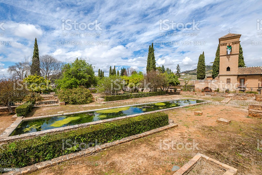 Alhambra de Granada stock photo