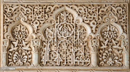 istock Alhambra - Fine Detailed Mosaic 121178604