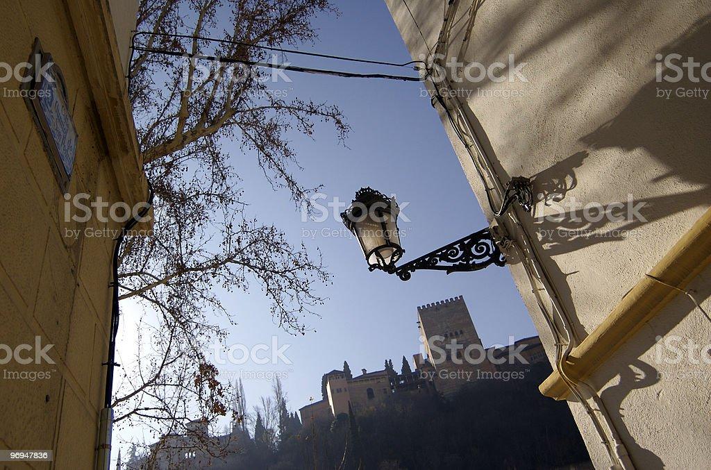Alhambra, Granada, Andalusia, Spain royalty-free stock photo