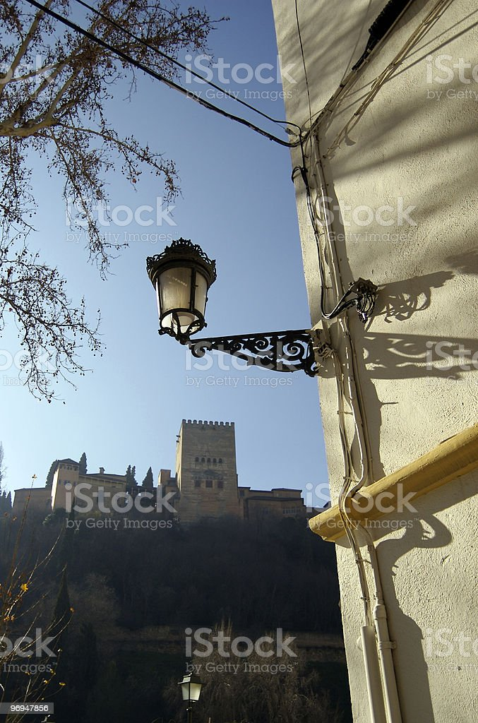 Alhambra, Granada, Andalusia, Spain royalty-free stock photo