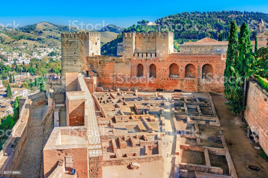 Alhambra, Granada, Andalusia,Spain stock photo
