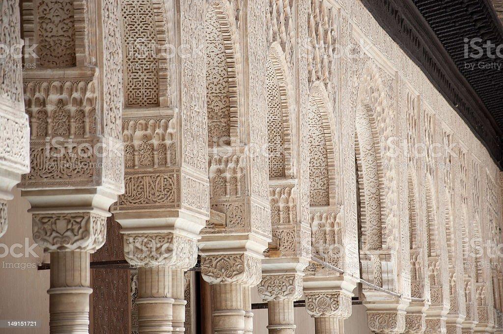 Alhambra, Granada in Spain stock photo