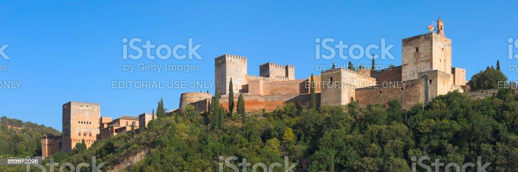 Alhambra, Granada stock photo
