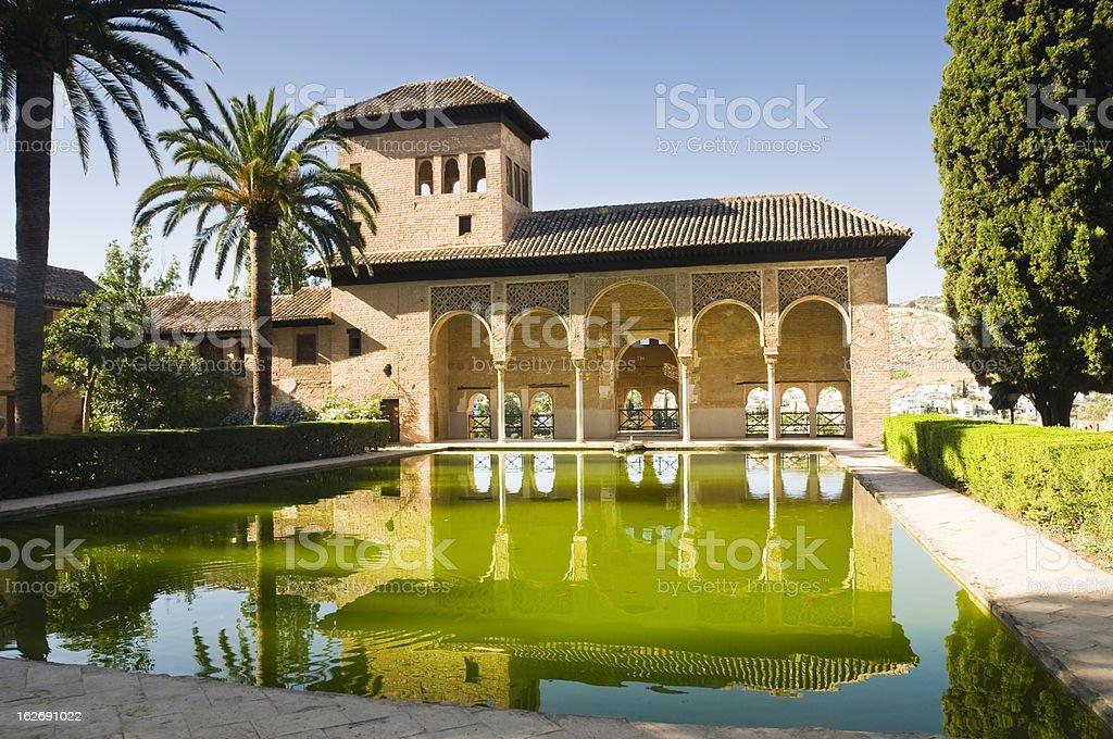 Alhambra in Granada stock photo