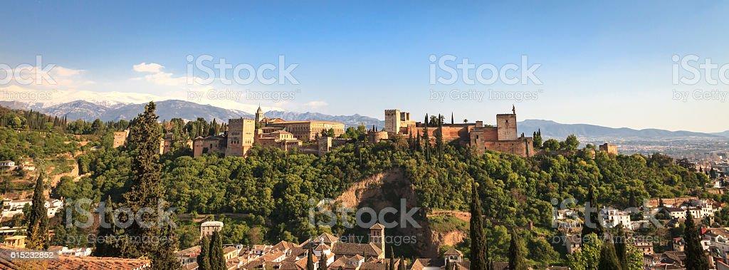 Alhambra in Granada, Spain圖像檔