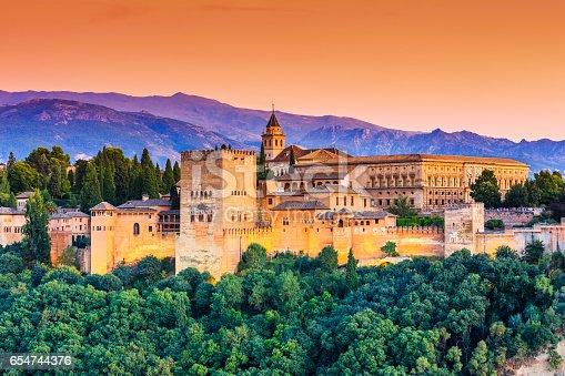 istock Alhambra of Granada, Spain. 654744376