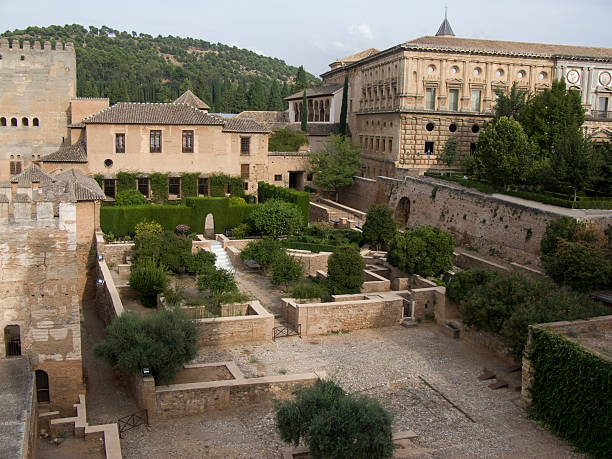 Alhambra Alhambra, Granada. palace of charles v stock pictures, royalty-free photos & images