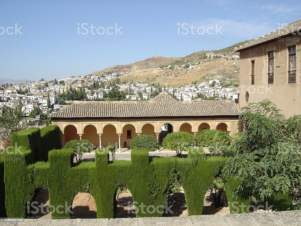alhambra11 royalty-free stock photo
