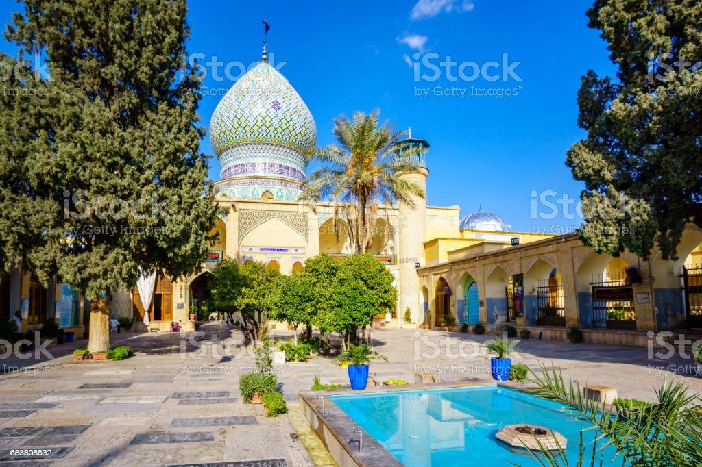 Ali Ibn Hamzeh Holly Shrine in Shiraz, Iran stock photo