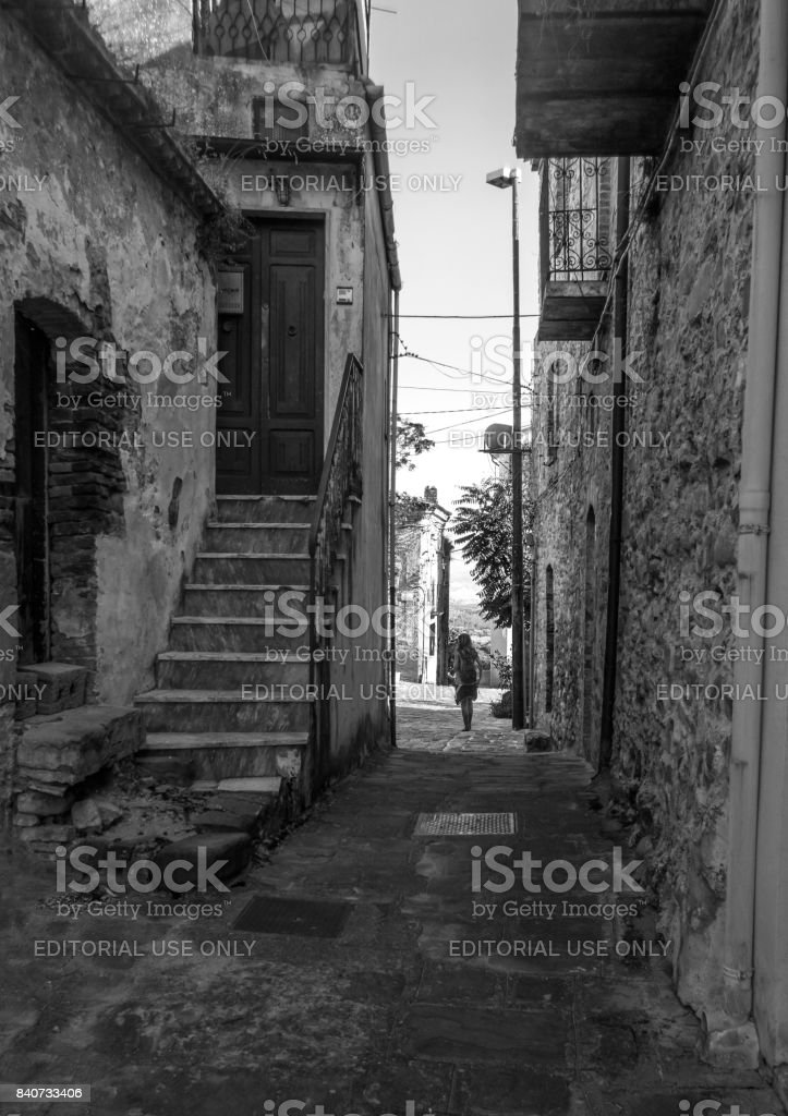 Aliano (Basilicata, Italy) stock photo