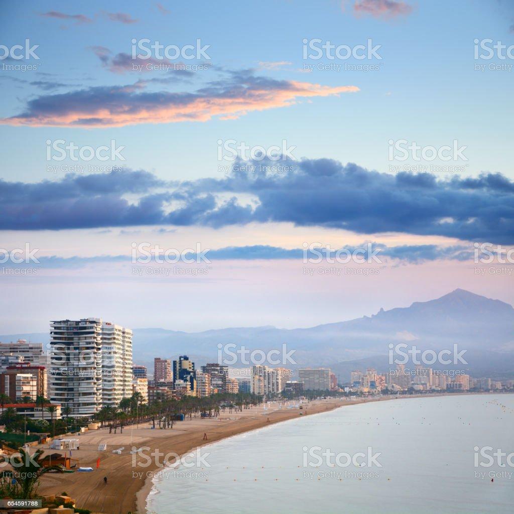 Strand von Alicante, Spanien – Foto