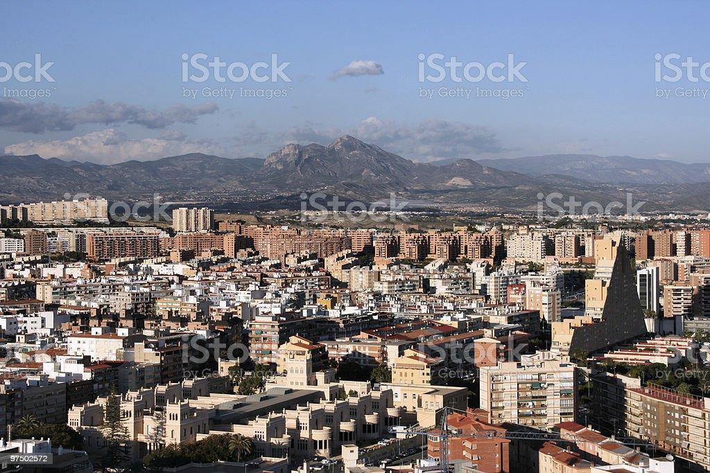 Alicante royalty-free stock photo