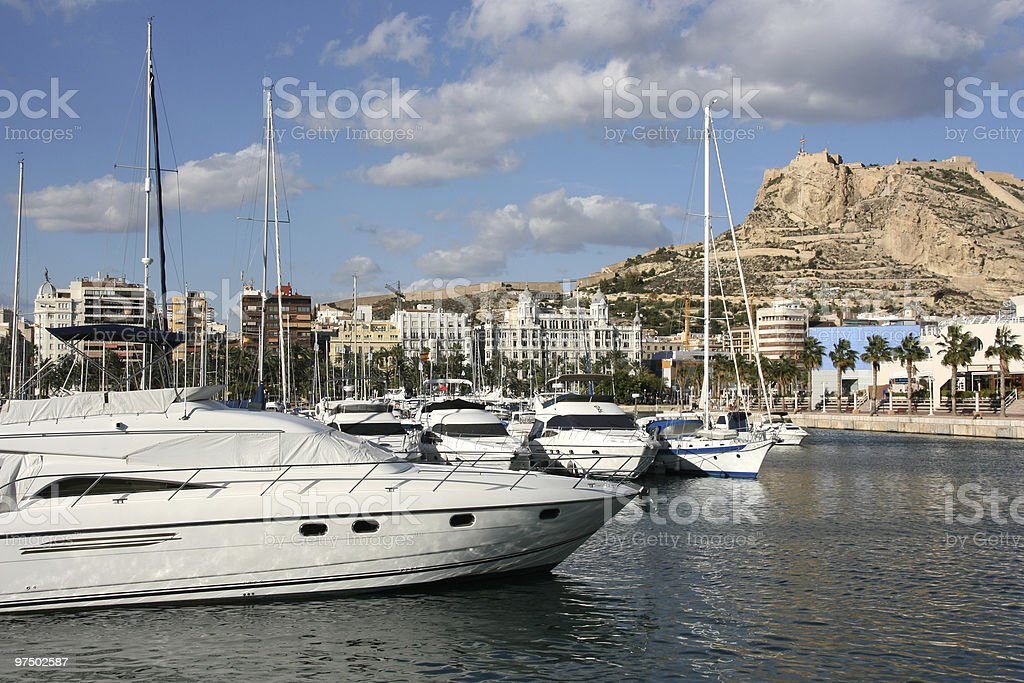 Alicante royalty-free stock photo