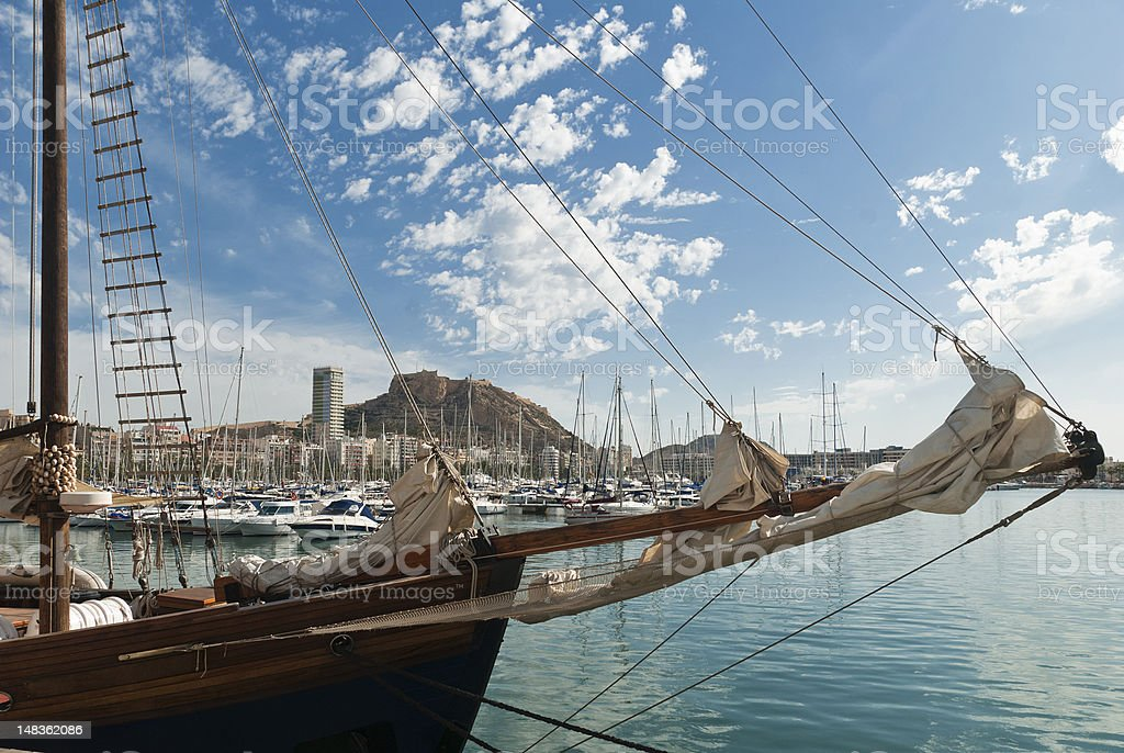 Alicante, Spain royalty-free stock photo