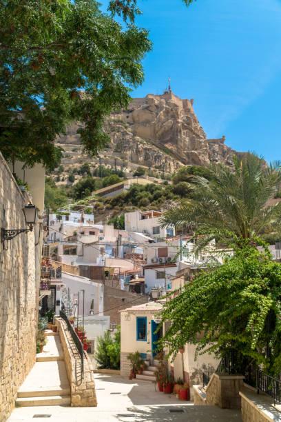 Alicante, Spain. Santa Cruz Neighborhood stock photo