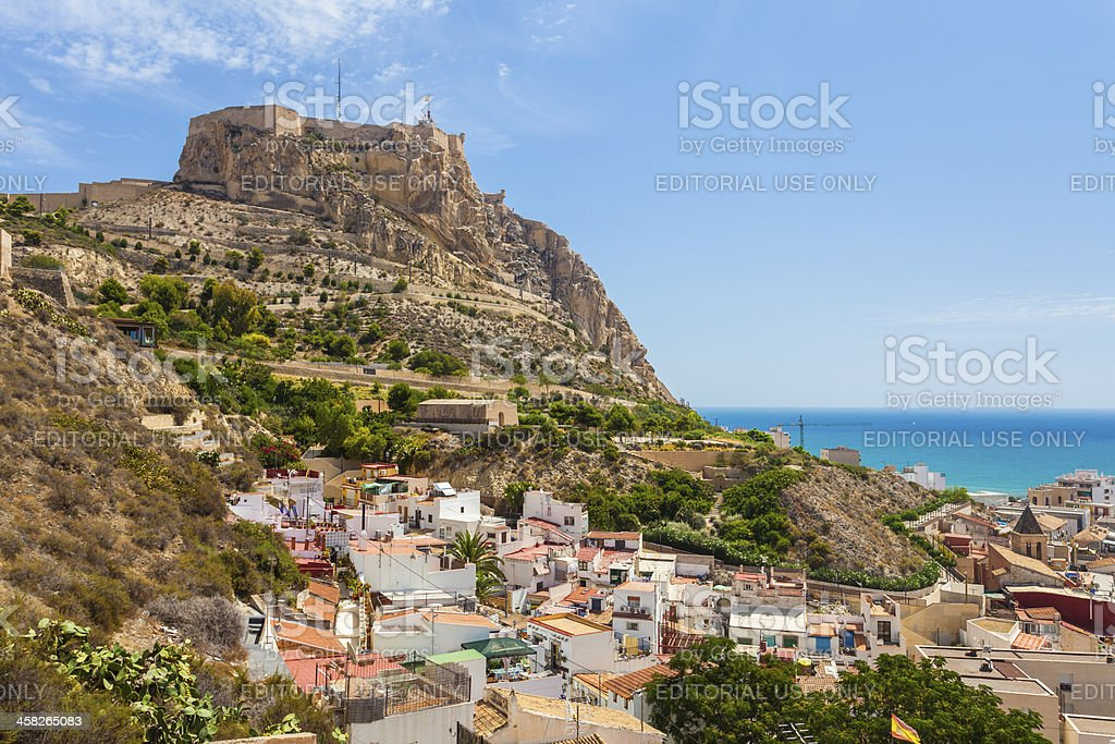 Alicante, die Santa Barbara-Burg, Spanien – Foto