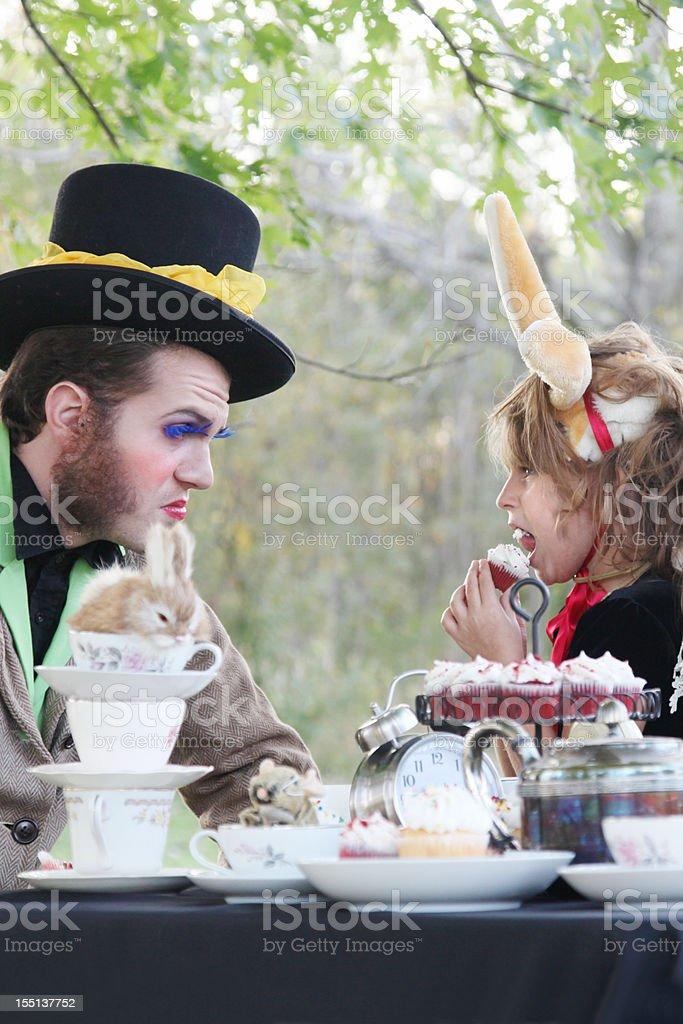 Alice in Wonderland royalty-free stock photo