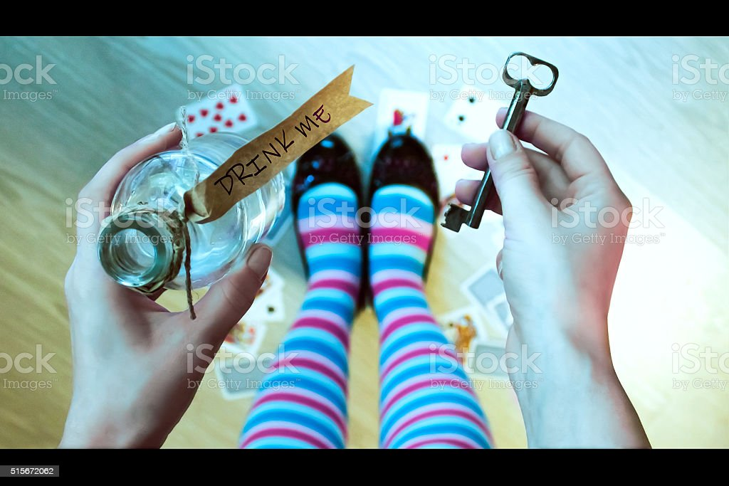 Alice in Wonderland - foto de stock