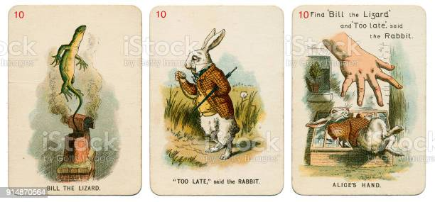 Alice in wonderland playing cards 1898 set 10 picture id914870564?b=1&k=6&m=914870564&s=612x612&h=vityzlpzkf  jmkdjdc3nlh3zank0xgr0gin8nxejqc=