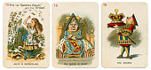 Alice In Wonderland playing cards 1898 Set 15