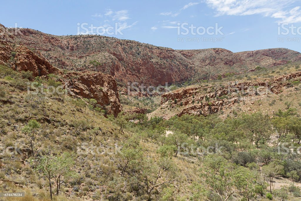 Alice Springs in Northern Territory, Australia stock photo