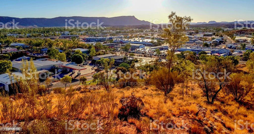 Alice Springs In Northern Territory, Australia Stock Image