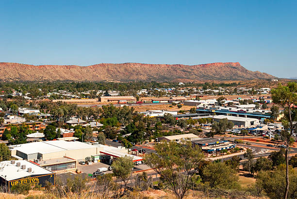 Alice Springs (Northern Territory Australia) stock photo