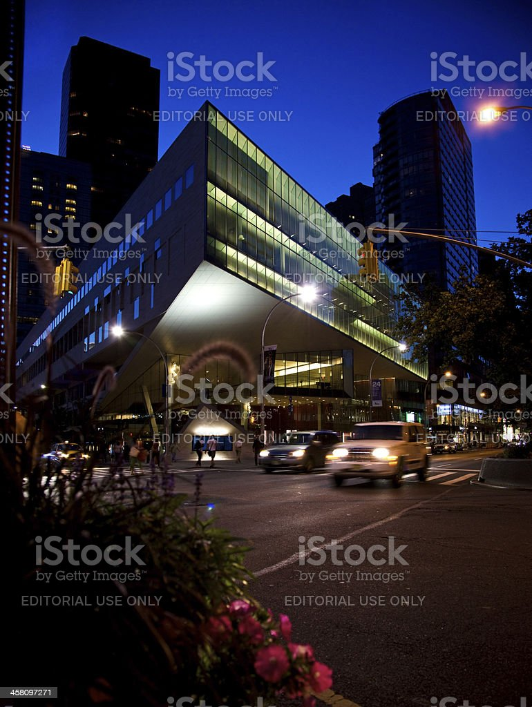Alice Tully Hall Lincoln Center for the Performing Arts stock photo