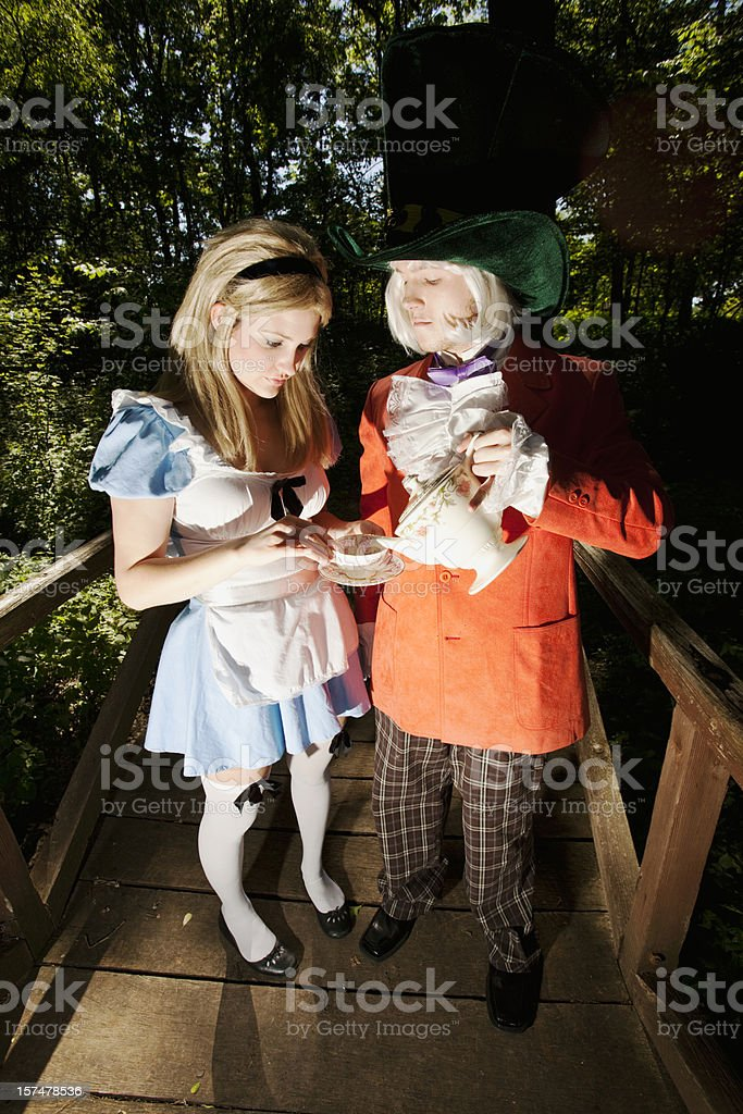 Alice's Deception royalty-free stock photo
