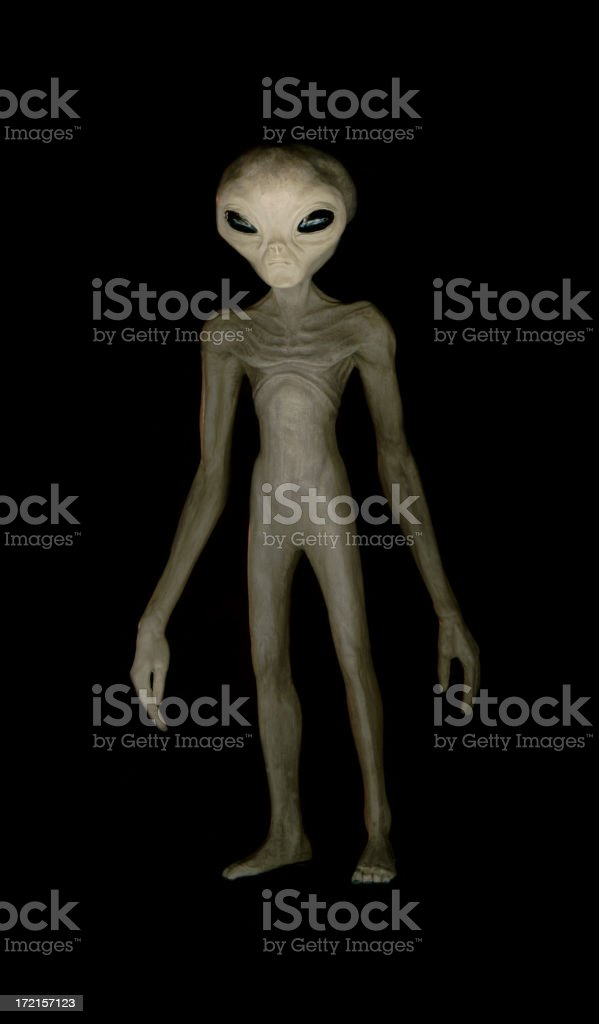 Alien 01 stock photo