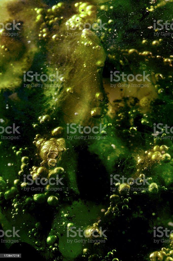 Alien algae background royalty-free stock photo