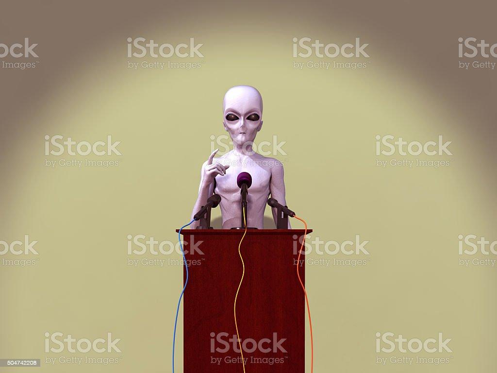 Alien Konferenz – Foto
