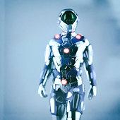 Alien cyborg astronaut