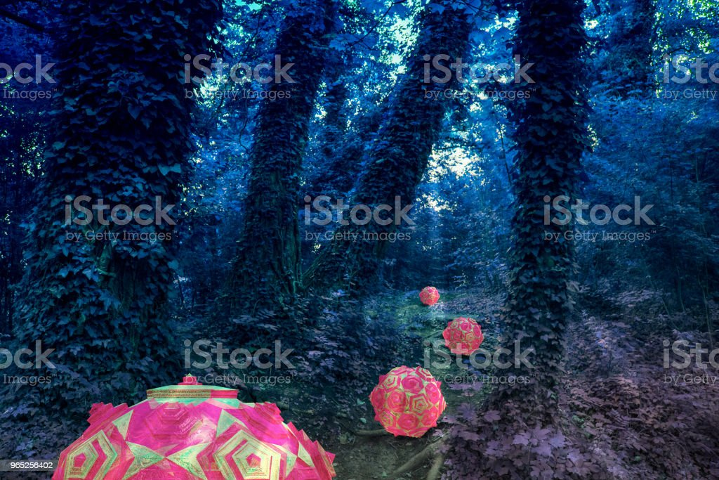 Alien Forest royalty-free stock photo