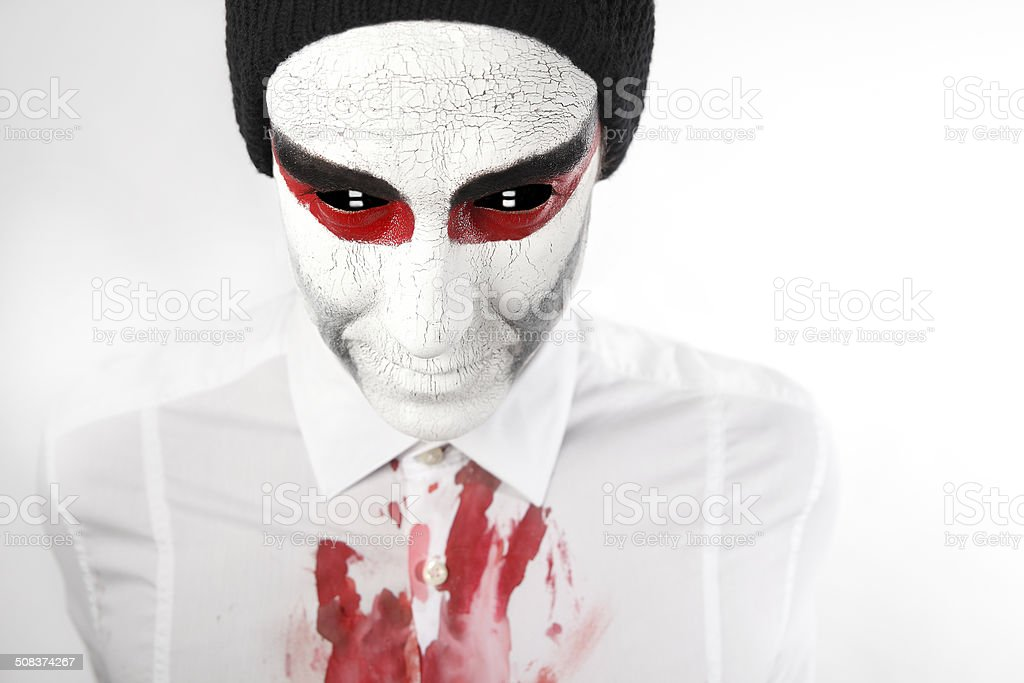 Alien from outer space stock photo