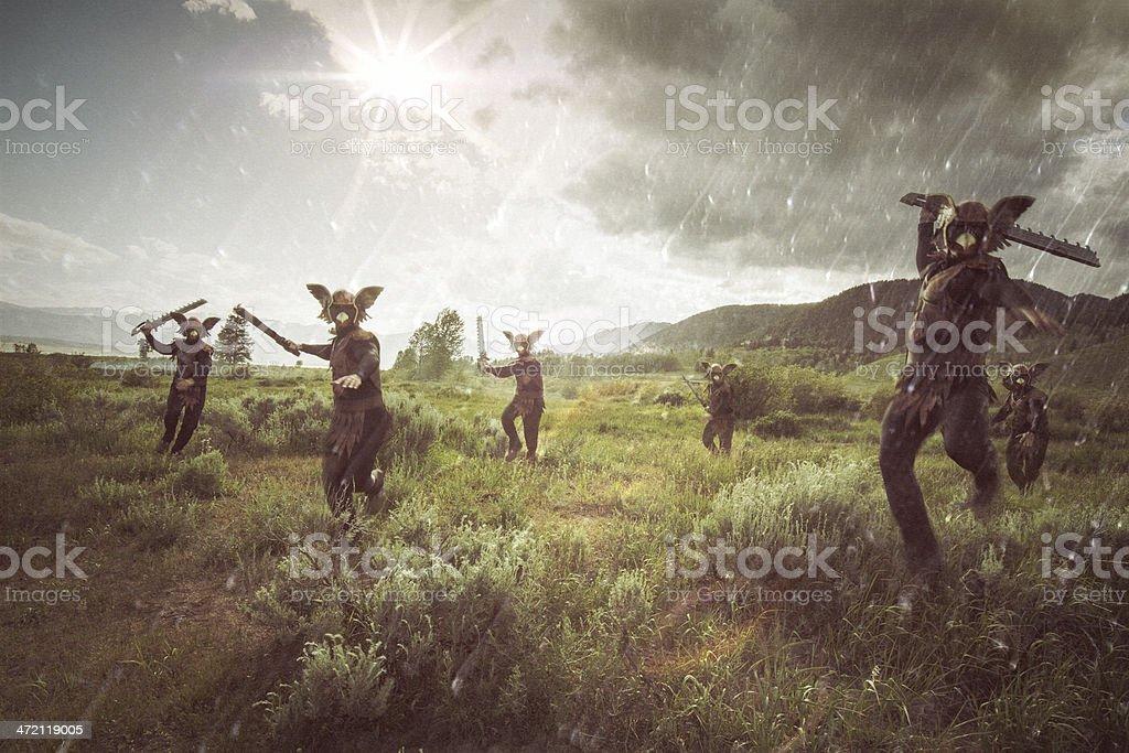 Invasão Alienígena - foto de acervo
