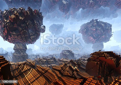 istock Alien landscape 1060455390