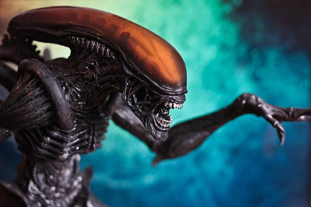 Alien movie figure - February 10, 2010 stock photo