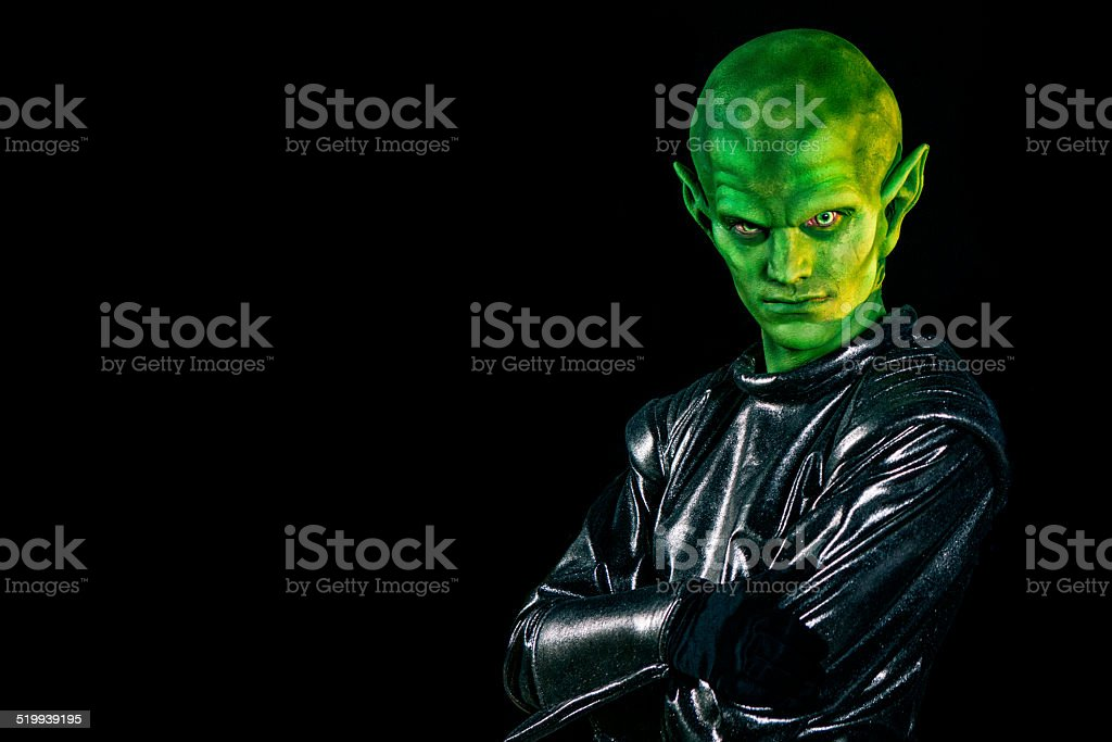 Alien stock photo