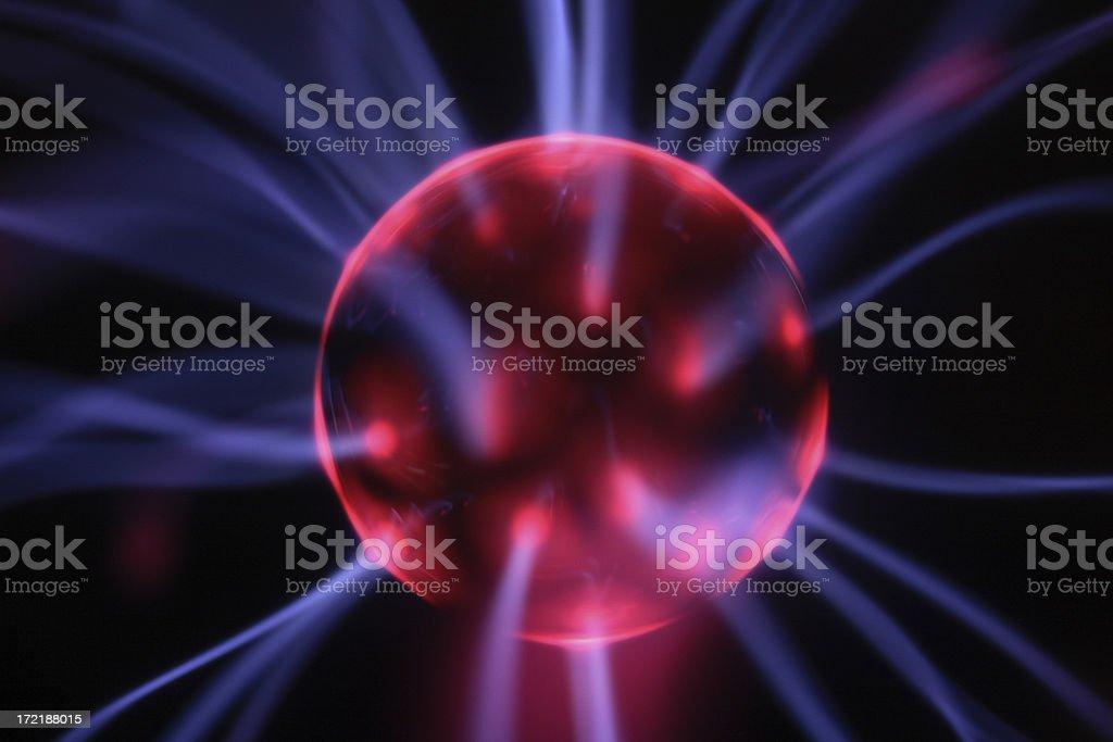 Alien Plasma Energy stock photo
