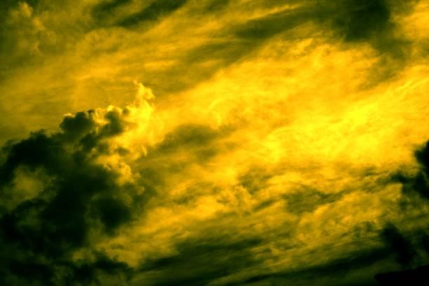 Alien Sky stock photo