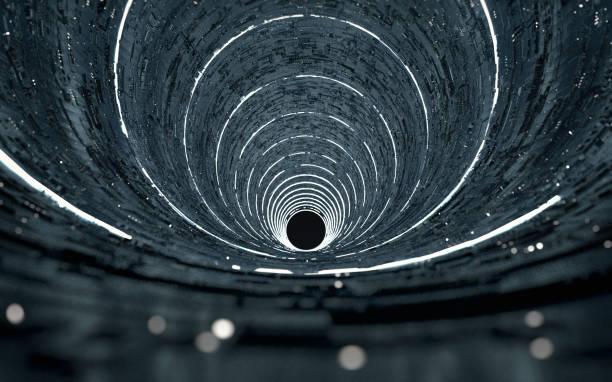 alien-struktur - tunnel stock-fotos und bilder