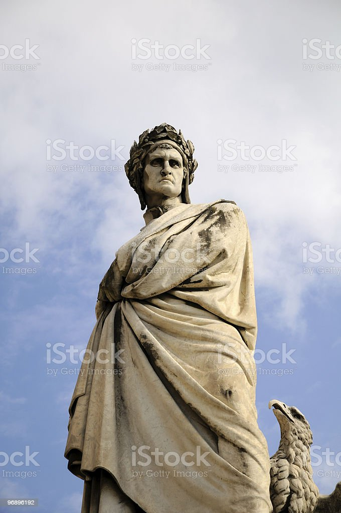 Alighieri Dante royalty-free stock photo