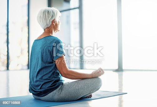 istock Aligning mind and body 690716868