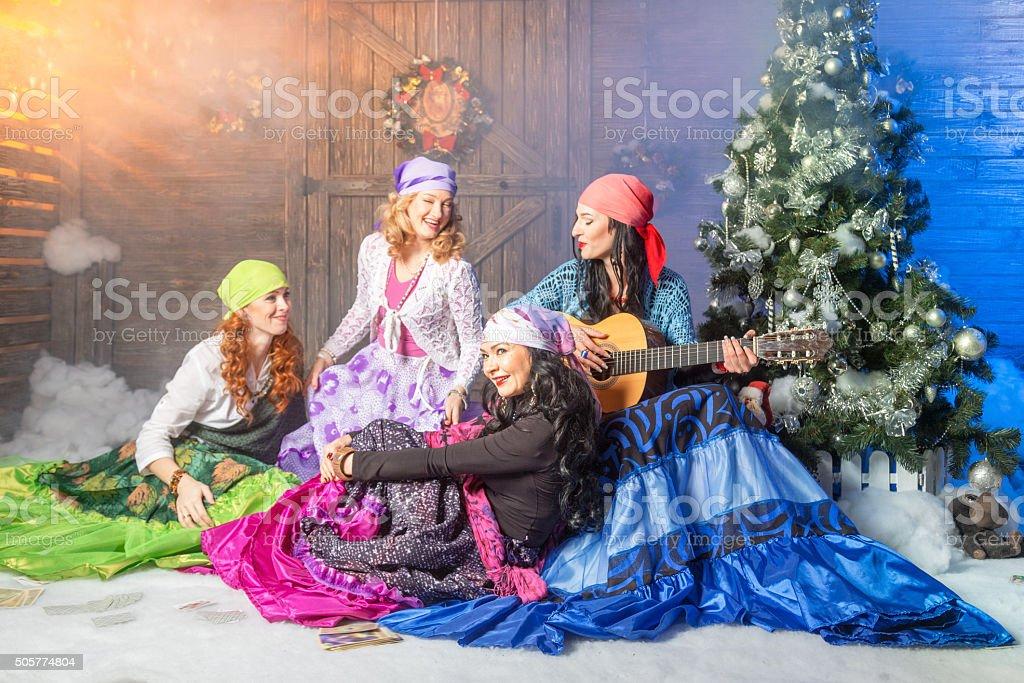 Zigeunerfrauen