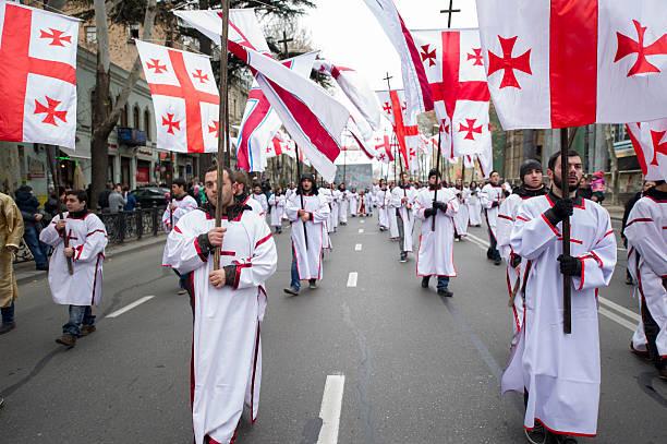 2015 Alilo-Prozession in Tiflis, Georgien – Foto